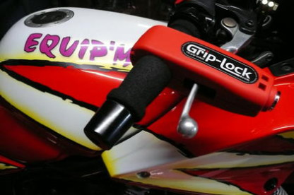 Le Grip-Lock, un antivol efficace et rapide pour moto et scooter !