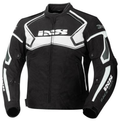 Veste étanche IXS Activo noir/blanc chez Equip'Moto