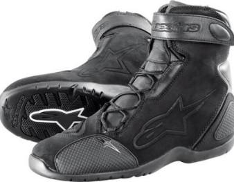 Basket chaussure moto noir